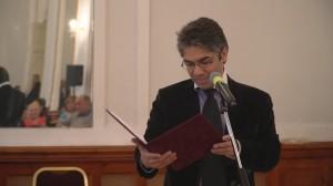 Ifj. Suki András zongoraművész, a rendezvény moderátora