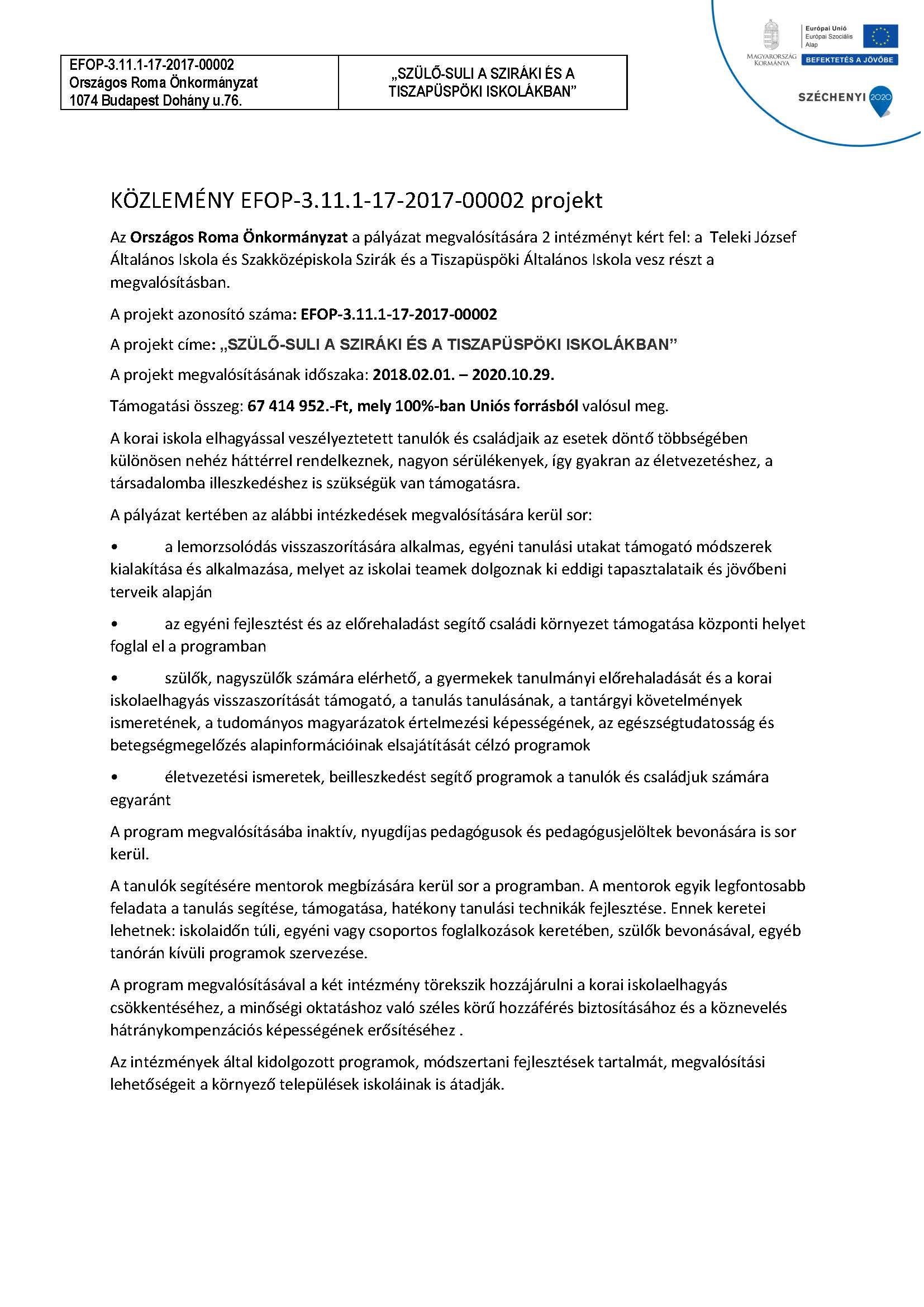EFOP-3.11.1- 17-2017-00002